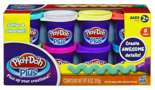 Playdoh Plus 8-packs